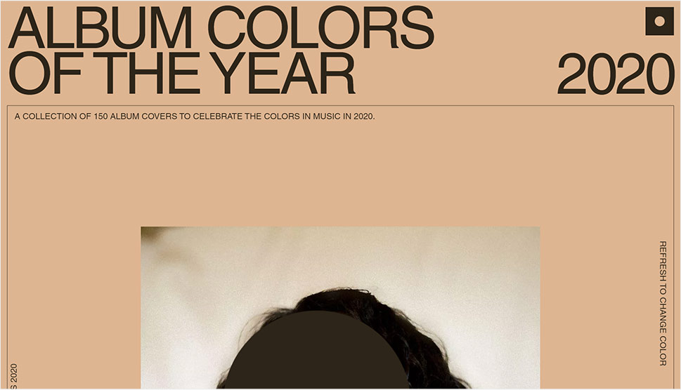 Album Colors of the Year