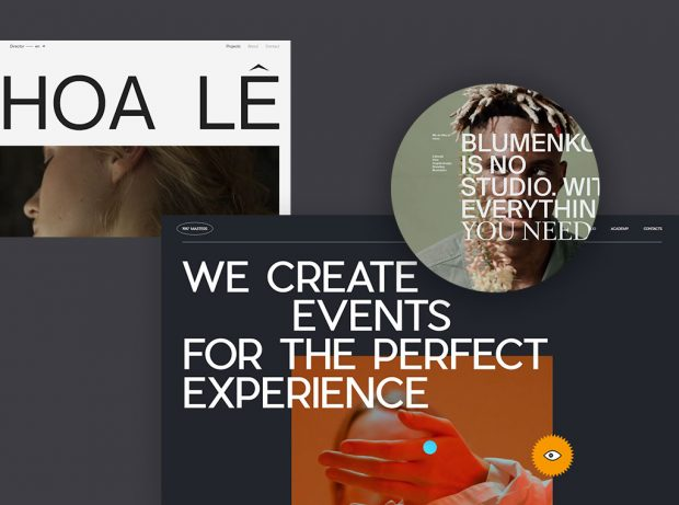 The Use of Uppercase Sans Serif Typography in Modern Web Design blog