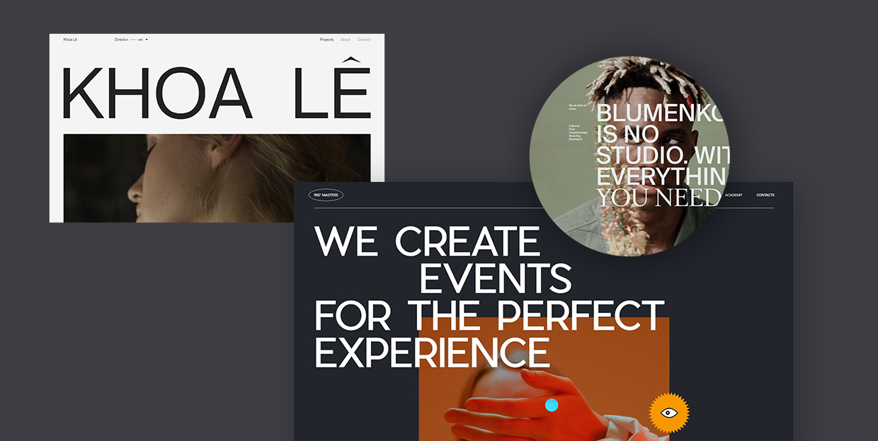 The Use of Uppercase Sans Serif Typography in Modern Web Design