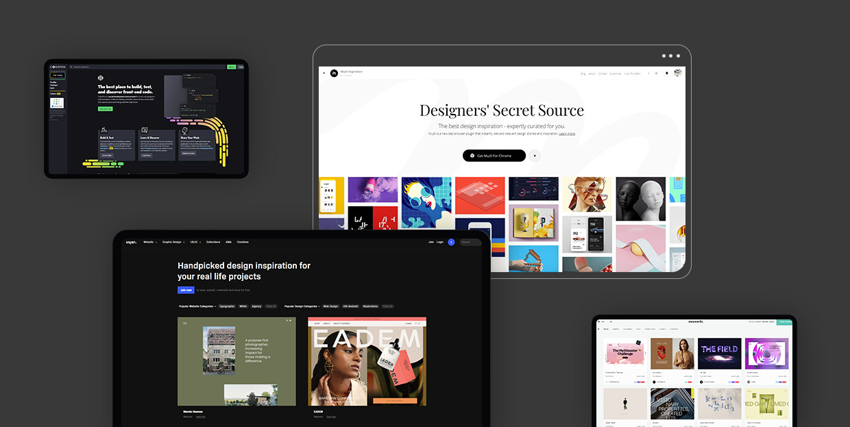 Best News and Inspiration Resources for Web Designers and Developers