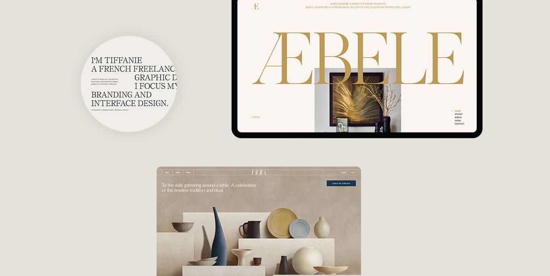 Impressive Examples of Websites with Beige Backgrounds