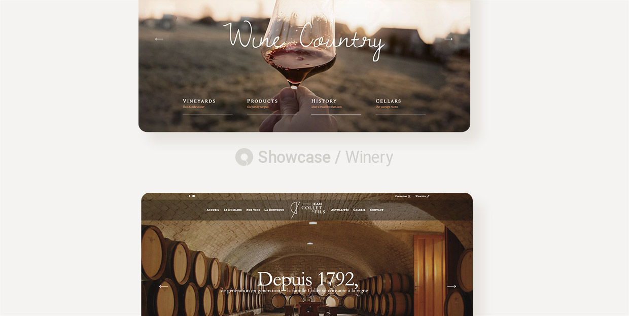 Winery Websites Made With Qode Themes