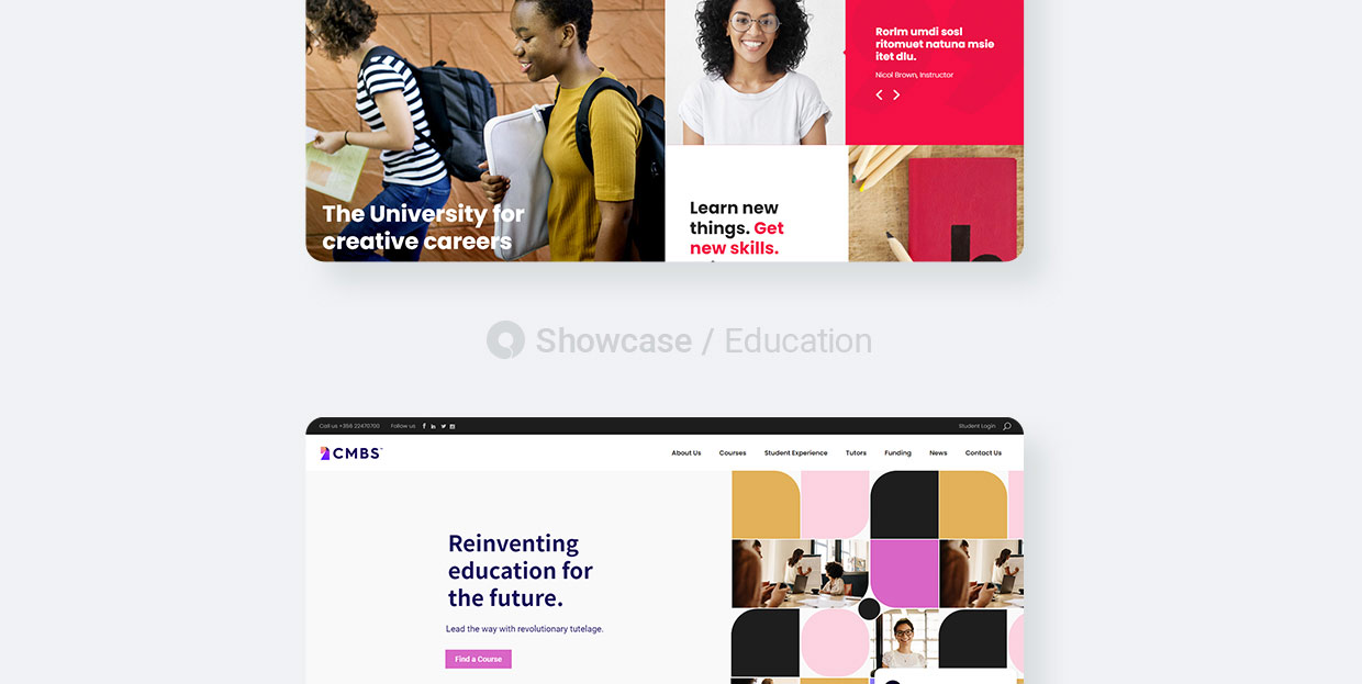 Education Websites Made with Qode Themes