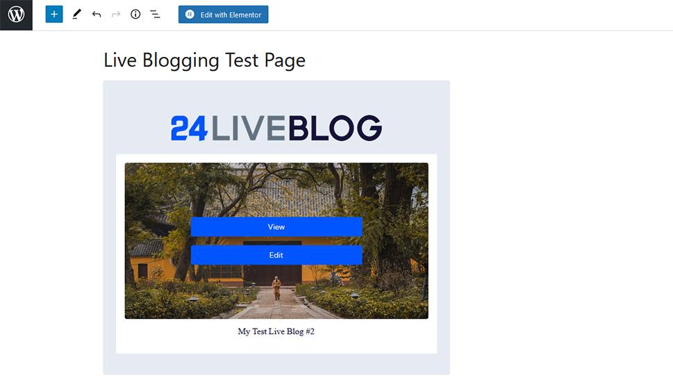 24liveblog Choose the Event