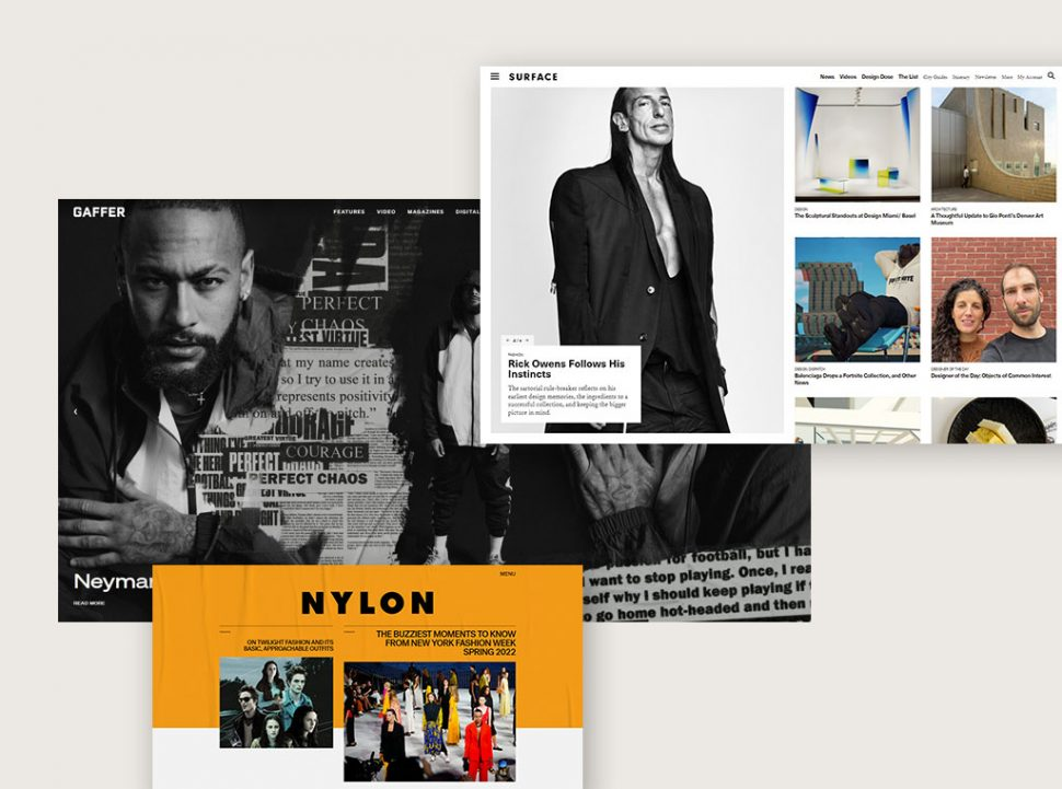 Examples of Captivating Blog Layout Designs