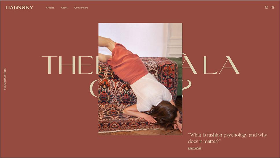 HAJINSKY Magazine