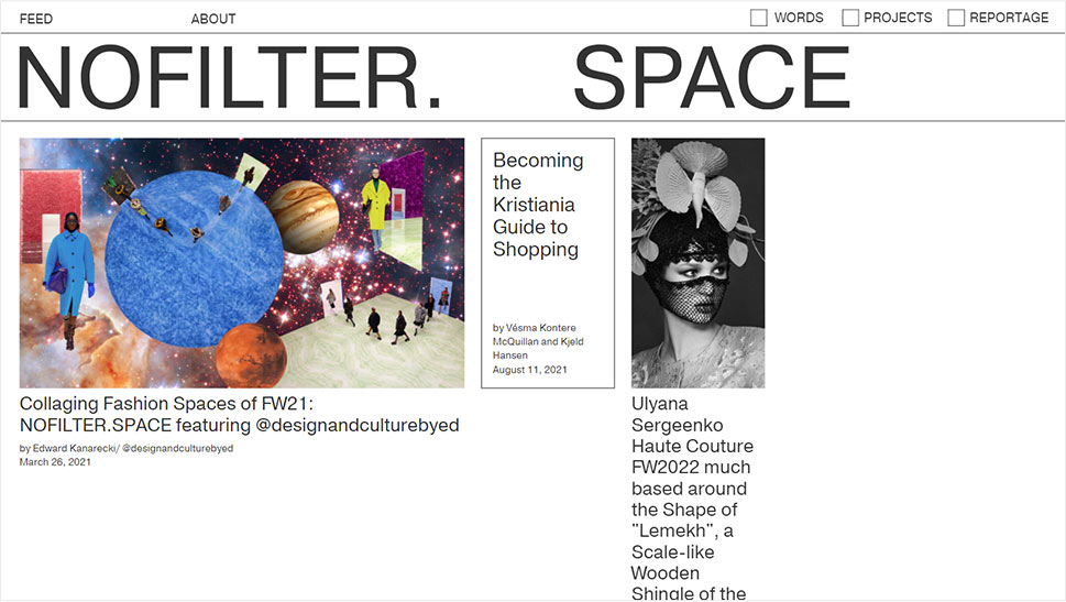 NOFILTER. SPACE
