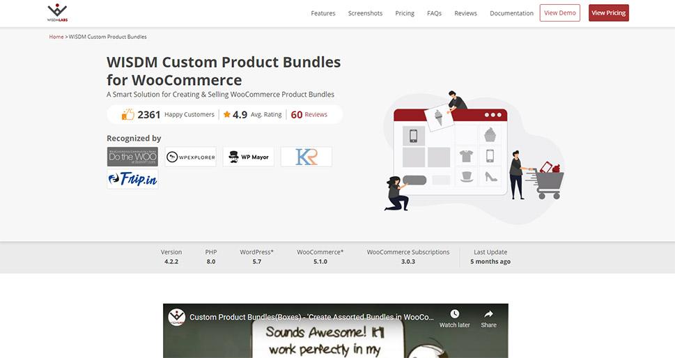 WISDM Custom Product Bundles for WooCommerce