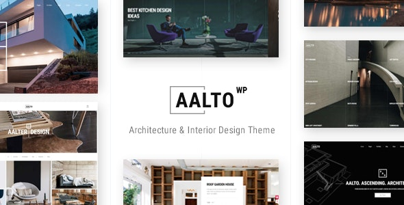 Aalto - Architecture and Interior Design Theme