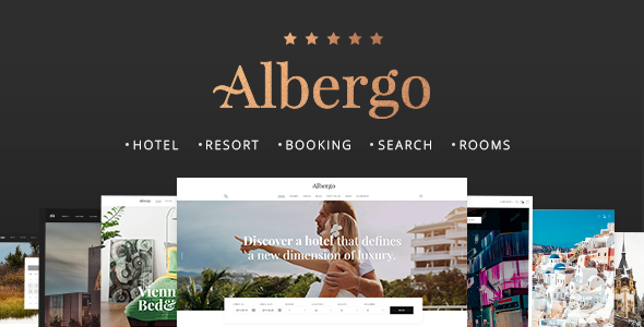 Albergo - Hotel and Accommodation Booking Theme