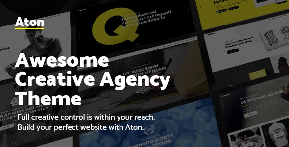Aton WordPress Theme