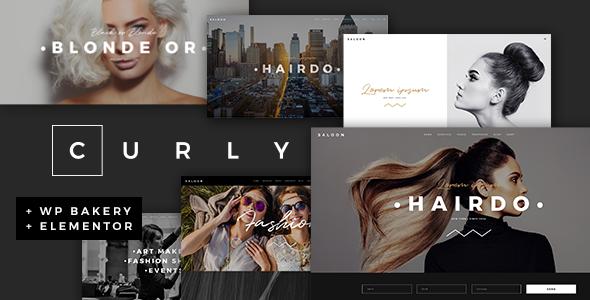Curly WordPress Theme