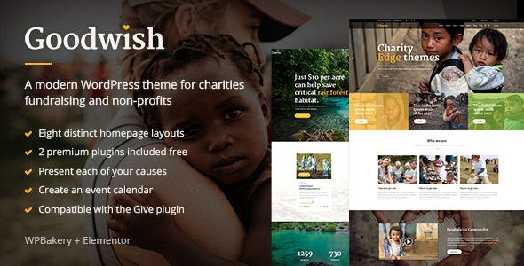 Goodwish WordPress Theme