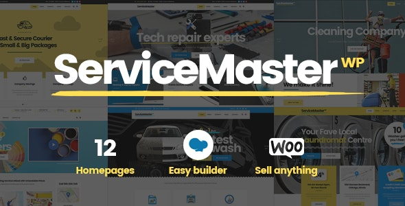 ServiceMaster WordPress Theme