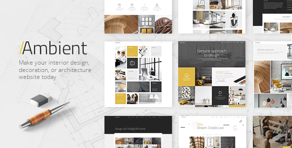Ambient Wordpress Theme