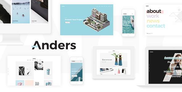 Anders - Design Portfolio Theme