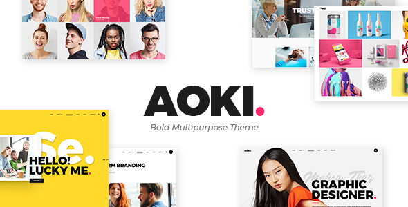 Aoki Wordpress Theme