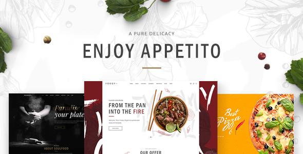 Appetito Wordpress Theme