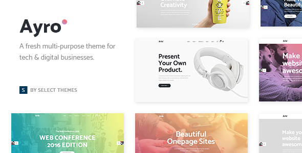 Ayro Wordpress Theme