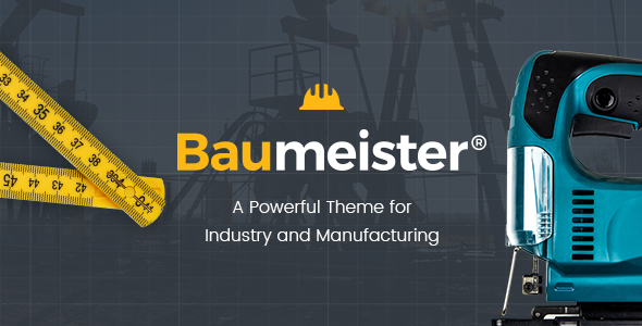 Baumeister Wordpress Theme