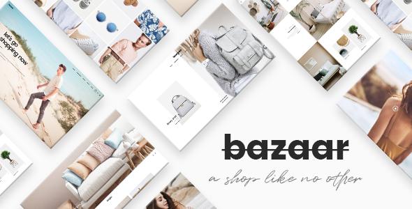 Bazaar Wordpress Theme