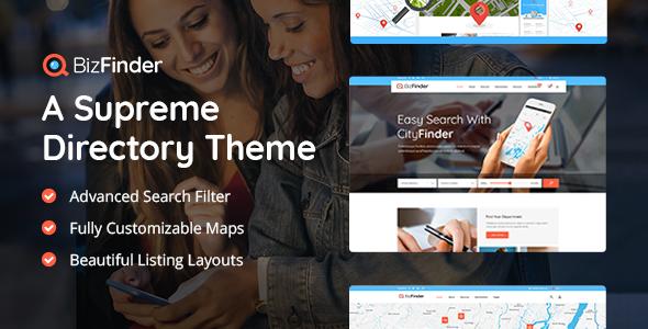 BizFinder WordPress Theme