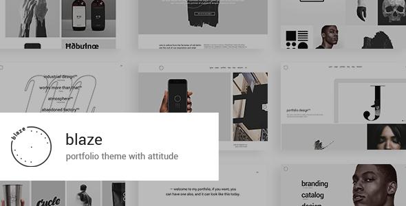 Blaze Wordpress Theme