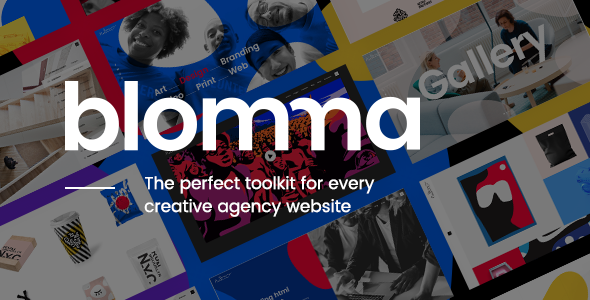 Blomma Wordpress Theme