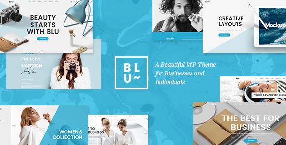 Blu Wordpress Theme