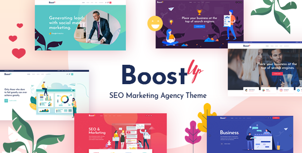 BoostUp - SEO Marketing Agency Theme