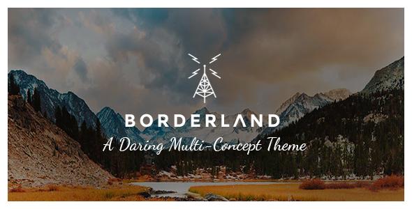 Borderland Wordpress Theme