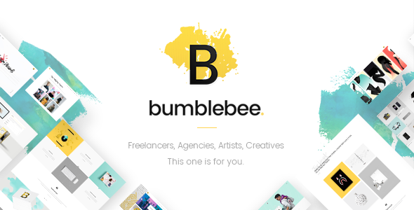 Bumblebee – A Smart Multipurpose Theme for Freelancers and Agencies