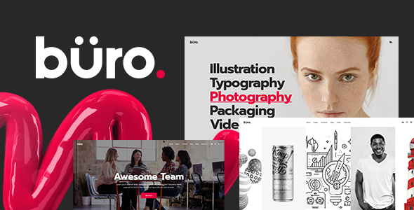 Büro Wordpress Theme