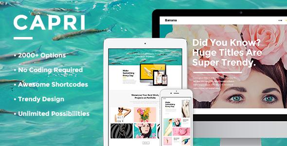 Capri Wordpress Theme