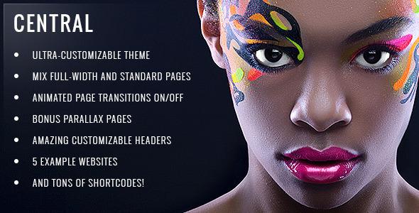 Central Wordpress Theme