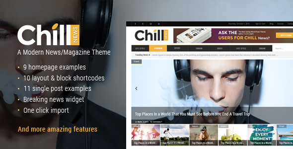 Chill Wordpress Theme