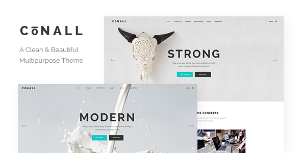 Conall Wordpress Theme