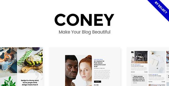 Coney Wordpress Theme