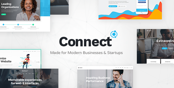 Connect Wordpress Theme