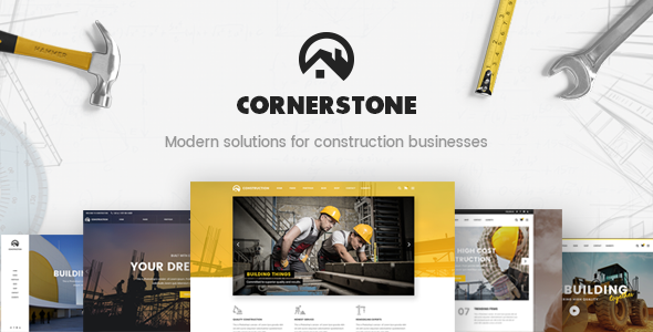 Cornerstone Wordpress Theme