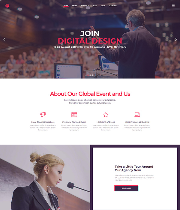 Cortex – A Multi-concept Theme for Agencies and Freelancers
