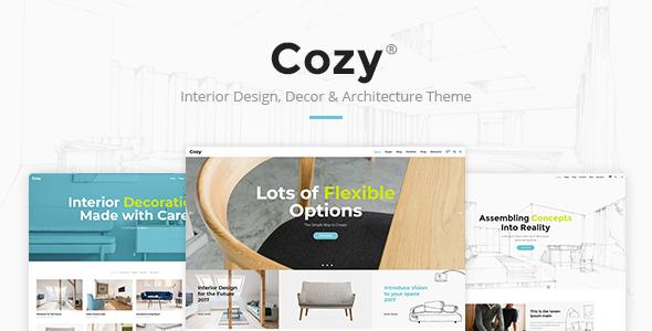Cozy Interior Design Theme Qode Interactive