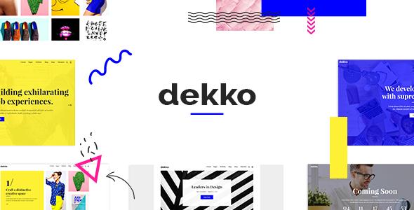 Dekko Wordpress Theme