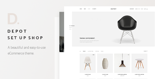 Depot - A Contemporary Theme for eCommerce