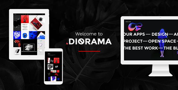 Diorama WordPress Theme