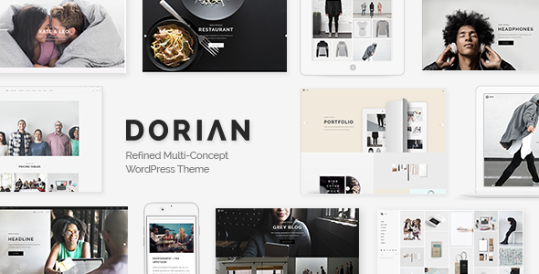 Dorian Wordpress Theme