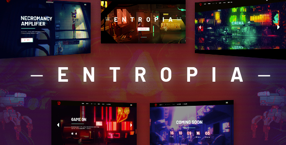 Entropia WordPress Theme