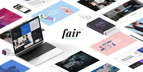 Fair Wordpress Theme