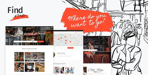FindMe Wordpress Theme
