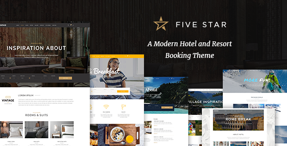 FiveStar - Hotel Booking Theme
